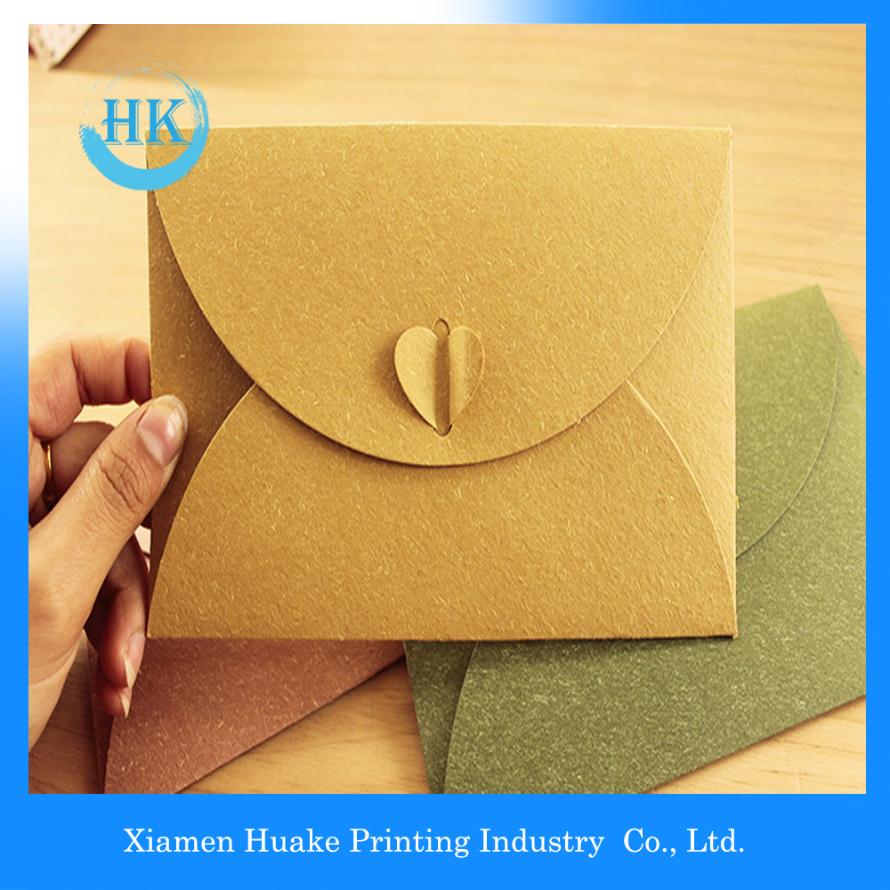 Wallet Lick Seal Envelopes